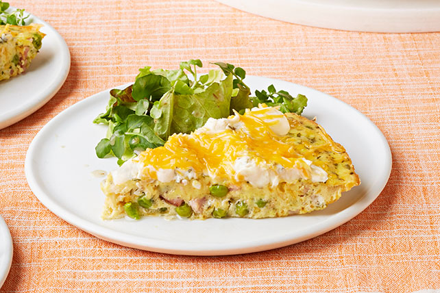 Ham and Pea Frittata Image 1