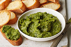 Cilantro and Peanut Pesto
