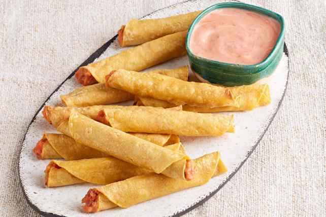 Vegetarian Taquitos Image 1