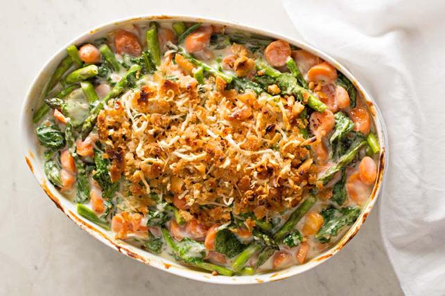 Gratin de légumes aux cinq fromages Image 1