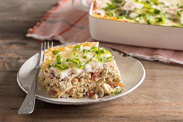 Creamy Artichoke Lasagna - Kraft Recipes