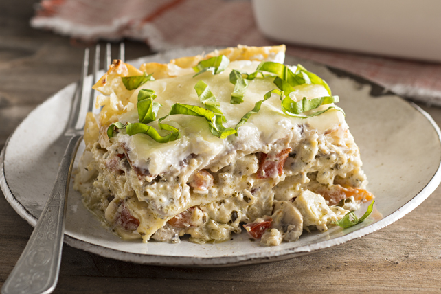 Creamy Artichoke Lasagna Recipe - Kraft Canada