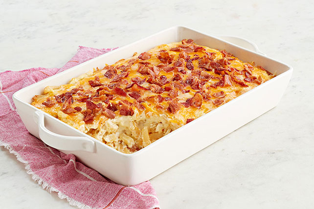 Loaded Shoestring Potato Bake Image 1