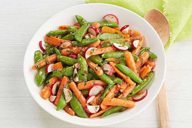 Verduras de primavera con glaseado Image 1