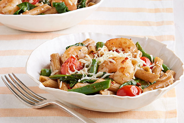 Pasta Primavera with Shrimp Image 1