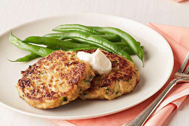 Zucchini-Salmon Cakes Image 1