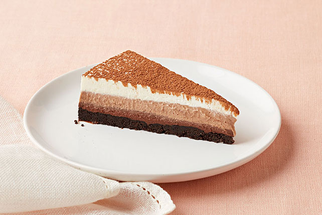 Triple-Layer Chocolate Mousse Dessert Image 1
