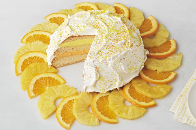 Gâteau ensoleillé Image 1