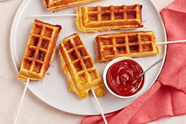 Waffle Corn Dogs Image 1