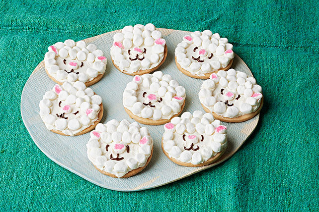 Little Lamb Sugar Cookies Image 1