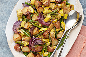 Oven-Roasted Dijon Vegetables
