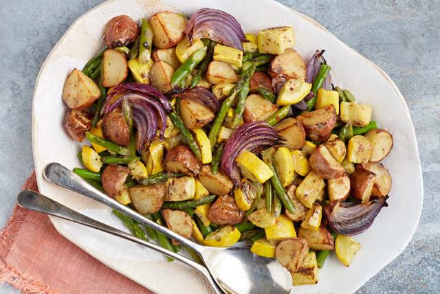 Légumes rôtis au four à la dijonnaise Image 1