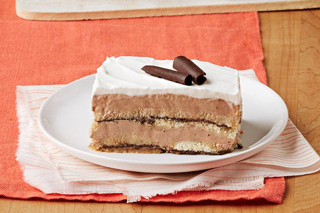 Tiramisú de galleta y chocolate Image 1