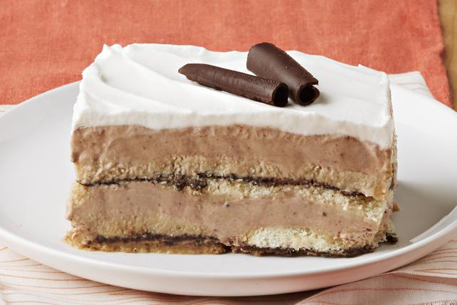 Tiramisu au chocolat et aux biscuits Image 1
