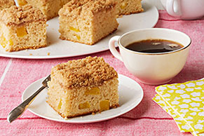 Delicioso pastel de mango