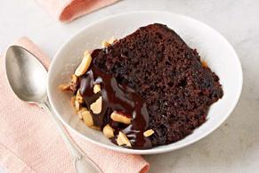 Gâteau au chocolat et au beurre d'arachide, cuit à la mijoteuse