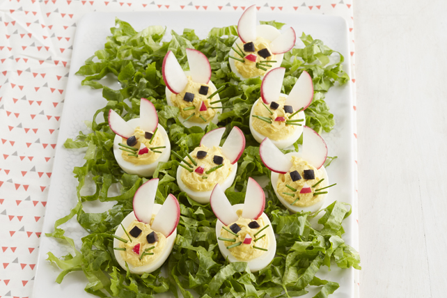 Easy Bunny Devilled Eggs Image 1