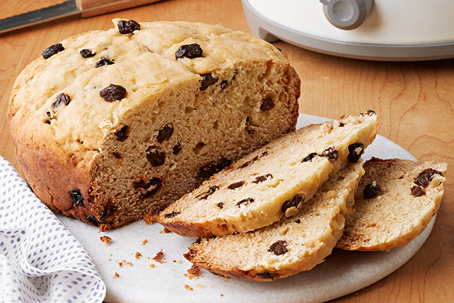 Slow-Cooker Irish Soda Bread with Raisins - Kraft Recipes