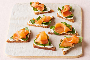 Smoked Salmon Appetizers