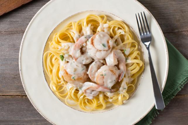 Creamy Seafood Alfredo Image 1