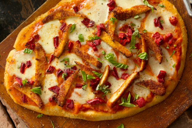 Chicken-Parmesan Pizza Image 1