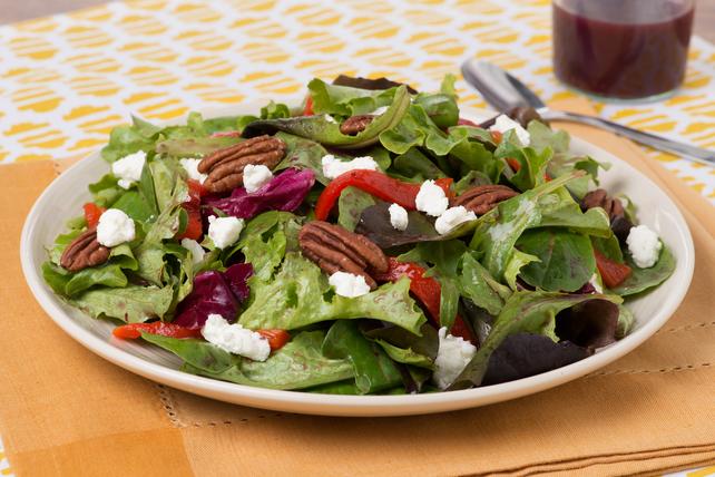 Salade de poivron rouge rôti et de fromage de chèvre  Image 1