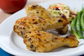 Honey Dijon-Chicken Drumsticks