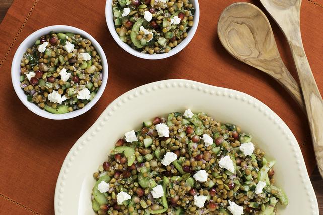 Lentil Tabbouleh Salad Image 1