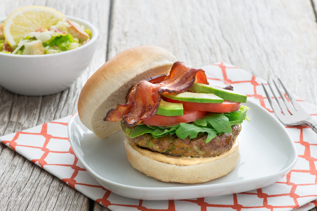 Chipotle BLT Burger with Avocado