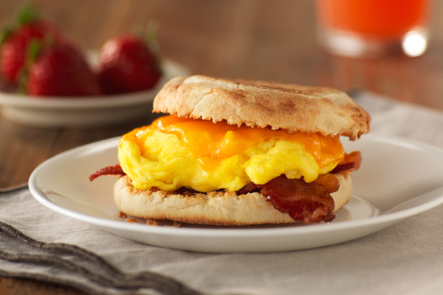Classic Bacon, Egg and Cheese Sandwich Image 1