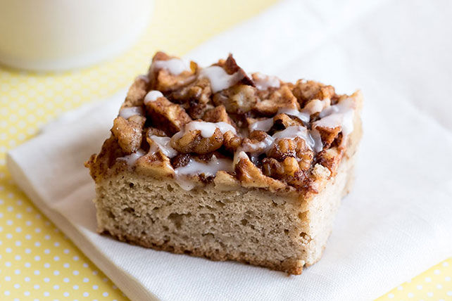Apple-Crowned Coffee Cake