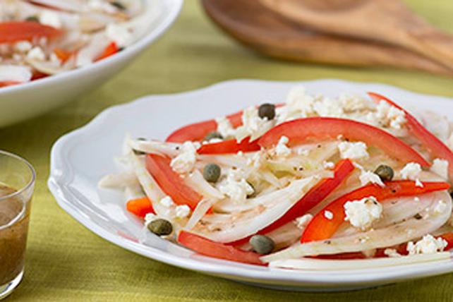 Salade de fenouil, de tomates et de féta Image 1