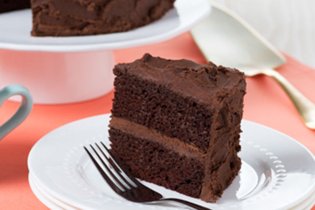 Decadent Chocolate Cake Image 1