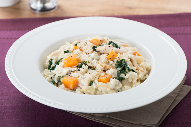 Chunky Blue Cheese and Chicken Risotto Image 1