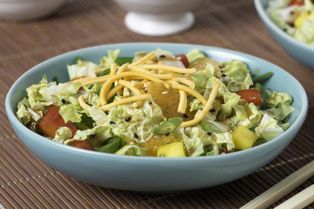 Salade de chou à la vinaigrette Asiatique au sésame Image 1