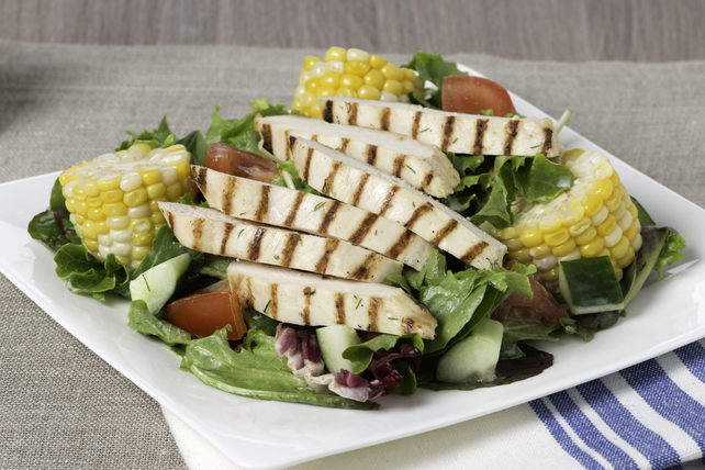 Rancher's Grilled Chicken and Corn Salad Image 1