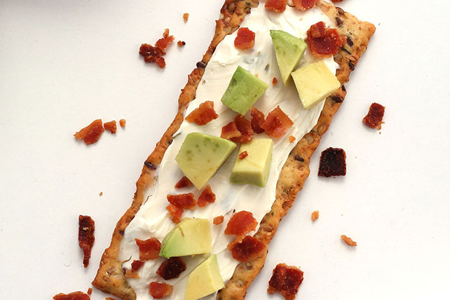 Avocado and Bacon Flatbread Image 1