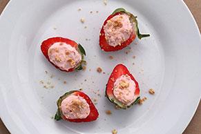 Strawberry Snack Bites