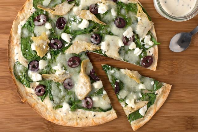 Pizza César aux épinards de Val Image 1