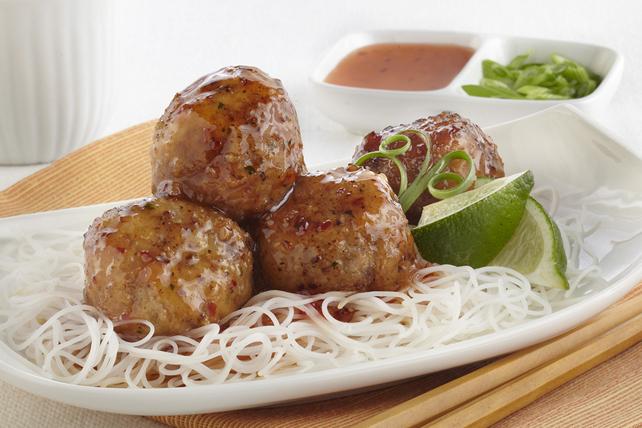 Boulettes de viande à la sauce thaïlandaise piquante Image 1