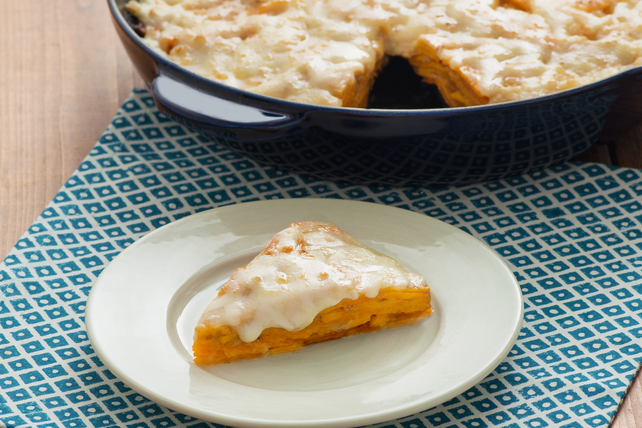 Skillet Scalloped Sweet Potatoes Image 1