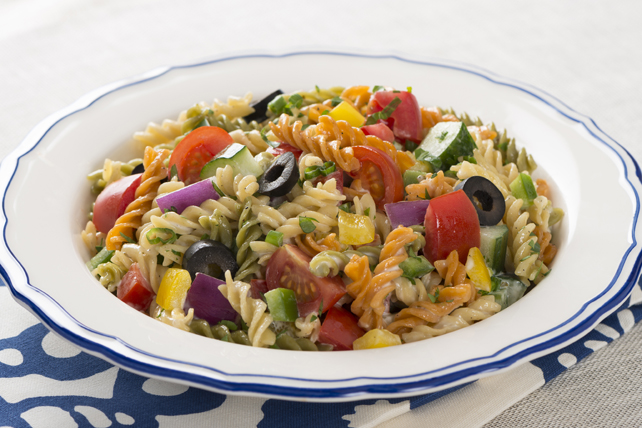 Holiday Greek Pasta Salad