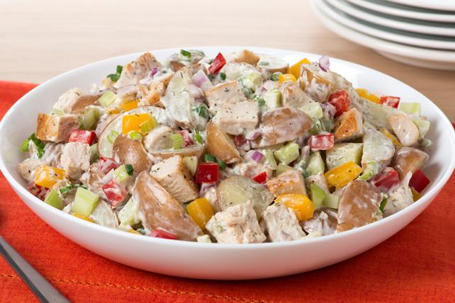 Salade de pommes de terre au poulet Image 1