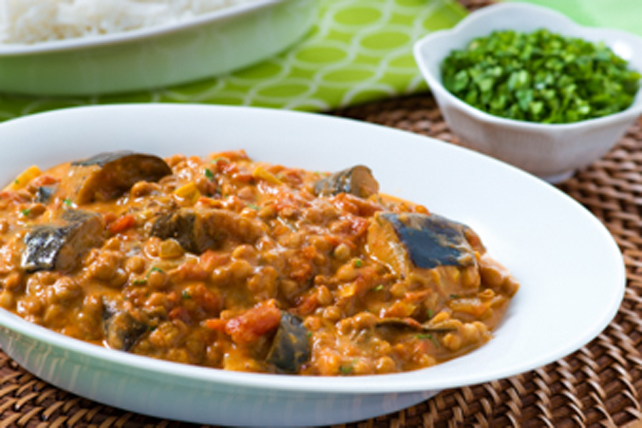 Eggplant and Lentil Curry Image 1