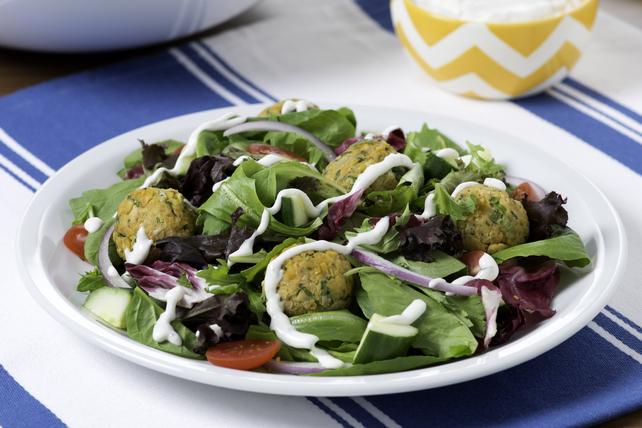 Salade de falafels avec tzatziki Image 1