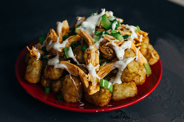 Buffalo Chicken Totchos Image 1