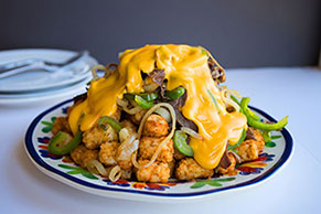 Philly Cheesesteak Totchos