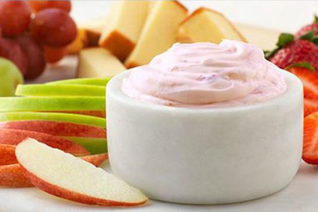Trempette au fromage PHILADELPHIA et aux fraises Image 1