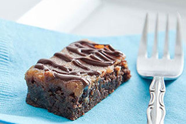 Brownies étagés au beurre d'arachide Image 1