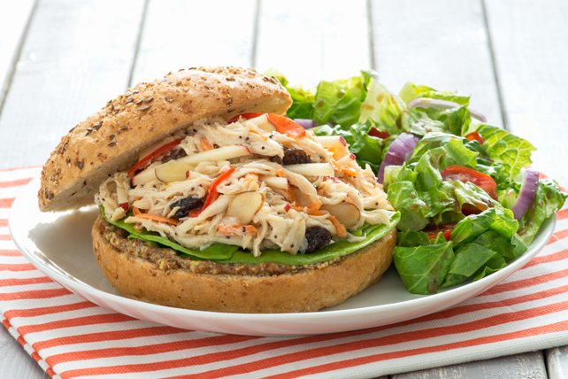 Poppy Seed-Chicken Salad Sandwich
